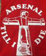 ARSENAL TILL I DIE T SHIRT (Red)